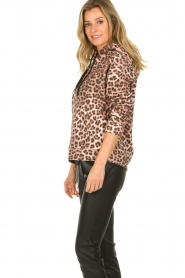 Set |  Sweater with leopard print Ria | animal print  | Picture 5