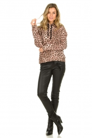 Set |  Sweater with leopard print Ria | animal print  | Picture 3