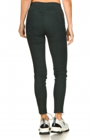 Dante 6 |  Leather suede leggings Campbell | dark green  | Picture 5