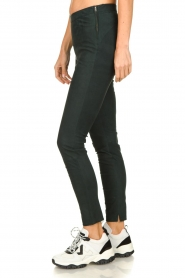 Dante 6 |  Leather suede leggings Campbell | dark green  | Picture 4