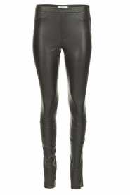 Dante 6 | Leather legging Campbell | black  | Picture 1