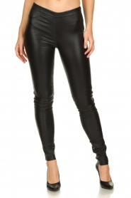 Dante 6 | Leather legging Campbell | black  | Picture 2