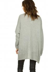 Set |  Knitted cardigan Melange | grey  | Picture 5