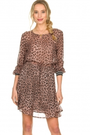 Set |  Top with leopard print Panter | pink  | Picture 2