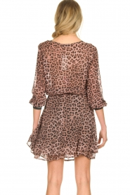 Set |  Top with leopard print Panter | pink  | Picture 6