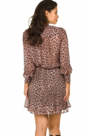 Set |  Blouse with panther print Panter | pink  | Picture 5