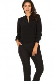 Set |  Classic blouse Alice | black  | Picture 2