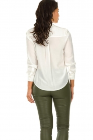Set |   Blouse with pockets Daz | white  | Picture 5