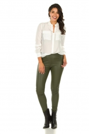 Set |   Blouse with pockets Daz | white  | Picture 3