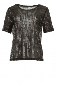 Set |  Sequin top Lulu | black  | Picture 1