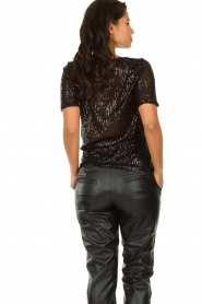 Set |  Sequin top Lulu | black  | Picture 5