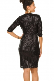 Set |  Dress with sequins Lulu | black  | Picture 6