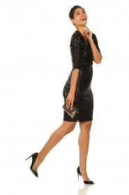 Set |  Dress with sequins Lulu | black  | Picture 3