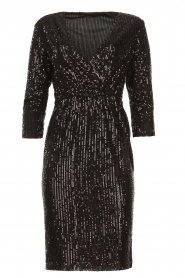 Set |  Dress with sequins Lulu | black  | Picture 1
