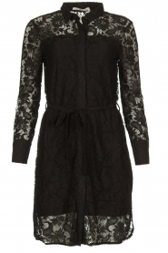 Aaiko |  Lace dress Ladina | black  | Picture 1