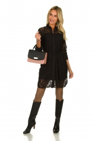 Aaiko |  Lace dress Ladina | black  | Picture 3