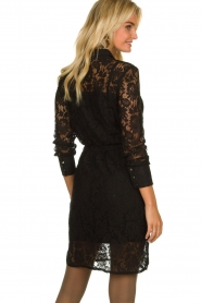 Aaiko |  Lace dress Ladina | black  | Picture 5