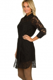 Aaiko |  Lace dress Ladina | black  | Picture 4