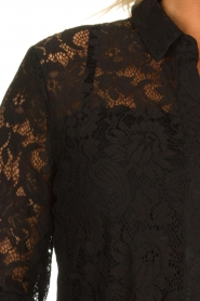 Aaiko |  Lace dress Ladina | black  | Picture 7