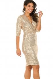 Set    Sequin dress Lulu   gold    Picture 4