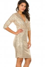 Set    Sequin dress Lulu   gold    Picture 6