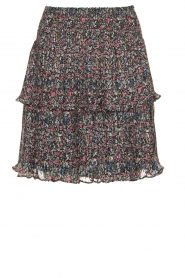 Aaiko    Pleated skirt Feven   black    Picture 1