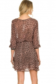 Set |  Skirt with leopard print Zara | pink  | Picture 6