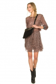 Set |  Skirt with leopard print Zara | pink  | Picture 3