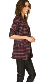 Aaiko |  Checkered blazer Adeline | black  | Picture 6