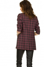 Aaiko |  Checkered blazer Adeline | black  | Picture 7