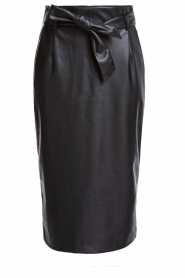 Set |  Faux leather skirt Celine | black  | Picture 1