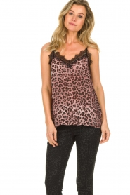 Set |  Lace top with leopard print Jula | animal print  | Picture 5