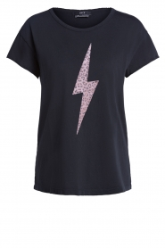 Set |  T-shirt with print Thunder | black  | Picture 1