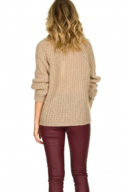 Aaiko |  Chunky knitted sweater Milly | natural  | Picture 6