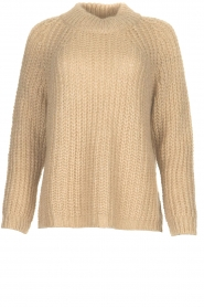 Aaiko |  Chunky knitted sweater Milly | natural  | Picture 1