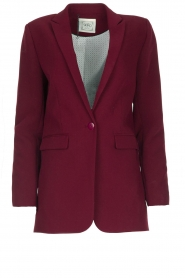 Aaiko |  Oversized blazer Tamilla | red  | Picture 1