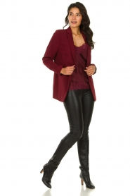 Aaiko |  Oversized blazer Tamilla | red  | Picture 3