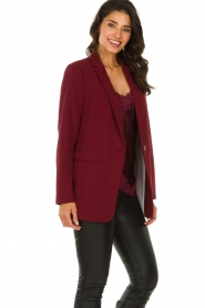 Aaiko |  Oversized blazer Tamilla | red  | Picture 5