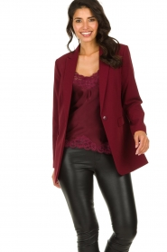 Aaiko |  Oversized blazer Tamilla | red  | Picture 4
