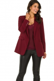 Aaiko |  Oversized blazer Tamilla | red  | Picture 2