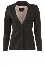 Set |  Blazer with panther print Vera | black  | Picture 1