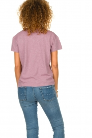 ba&sh |  Printed T-shirt Ted | purple  | Picture 5