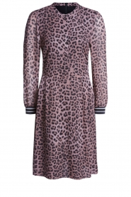 Set |  Dress with panther print Panter | pink  | Picture 1
