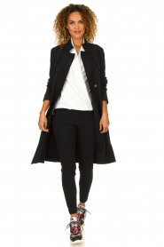 D-ETOILES CASIOPE | Coat Soiree | black  | Picture 3