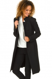 D-ETOILES CASIOPE | Coat Soiree | black  | Picture 4
