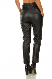 Set |  Faux leather paperbag pants Roxy | black  | Picture 6