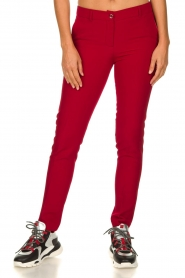 Kocca |  Classic trousers Jander | red  | Picture 2