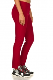 Kocca |  Classic trousers Jander | red  | Picture 4