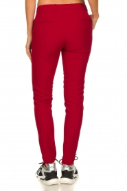 Kocca |  Classic trousers Jander | red  | Picture 5