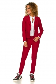 Kocca |  Classic trousers Jander | red  | Picture 3